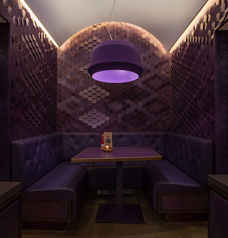 Nando's Vauxhall, London Eclectic style gastronomy by Moreno Masey Eclectic