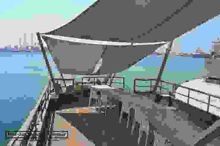 Yacht Mojo, Dubai Iates e jatos modernos por Piet-Jan van den Kommer Moderno
