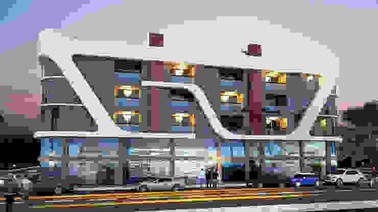 Edificios de oficinas de estilo moderno de MİNERVA MİMARLIK Moderno