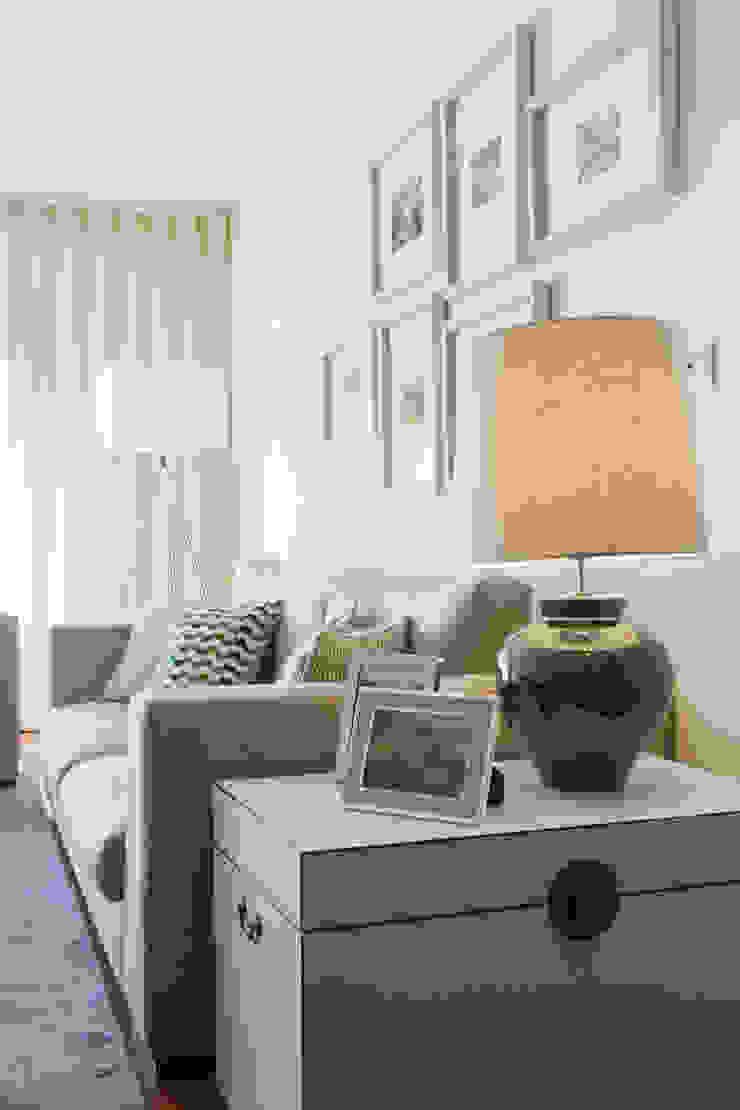 Sala Comum_Zona de Estar Salas de estar modernas por Traço Magenta - Design de Interiores Moderno