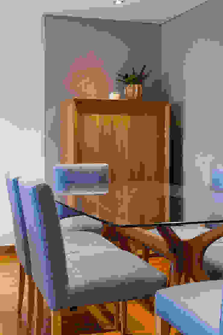 Sala Comum_Zona de Refeições Salas de jantar modernas por Traço Magenta - Design de Interiores Moderno