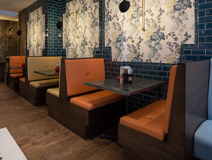 GBK Earls Court Eclectic style gastronomy by Moreno Masey Eclectic