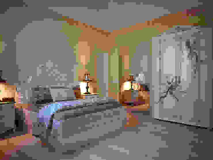 camera da letto padronale Camera da letto in stile classico di riccaro fiorucci Classico