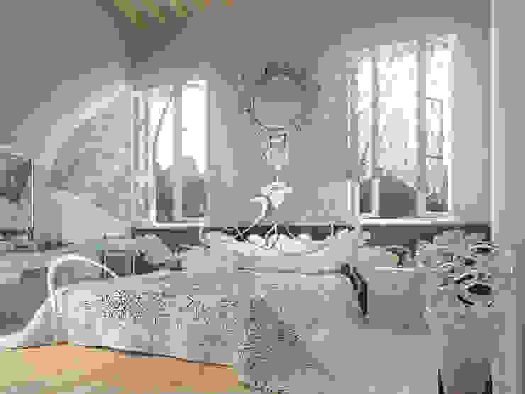 abitazione privata Camera da letto eclettica di riccaro fiorucci Eclettico
