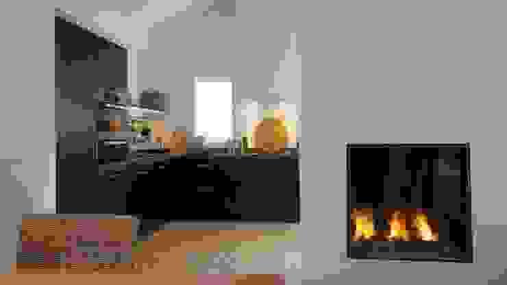 Modern Kitchen by Antonissen interieurbouw Modern