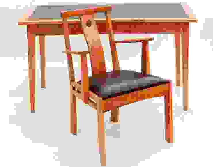 Work Desk & Chair: modern  by John Thatcher Furniture, Modern