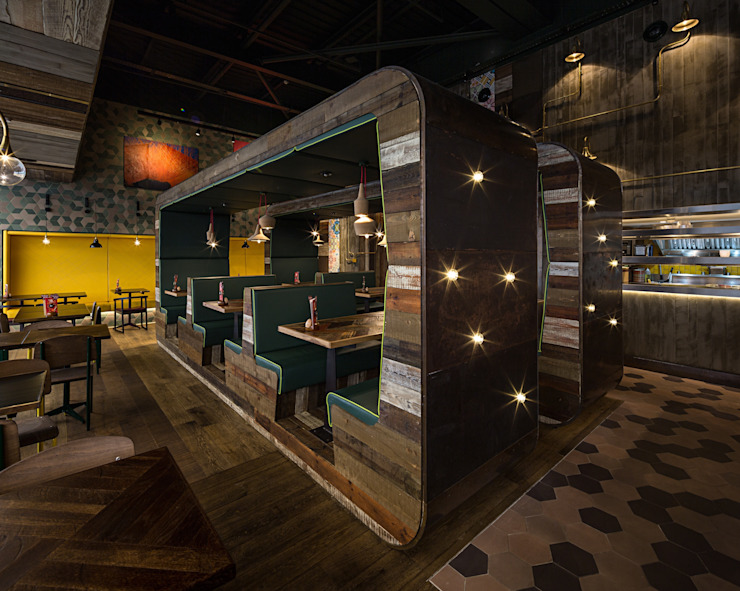 Nando's Lakside Eclectic style gastronomy by Moreno Masey Eclectic