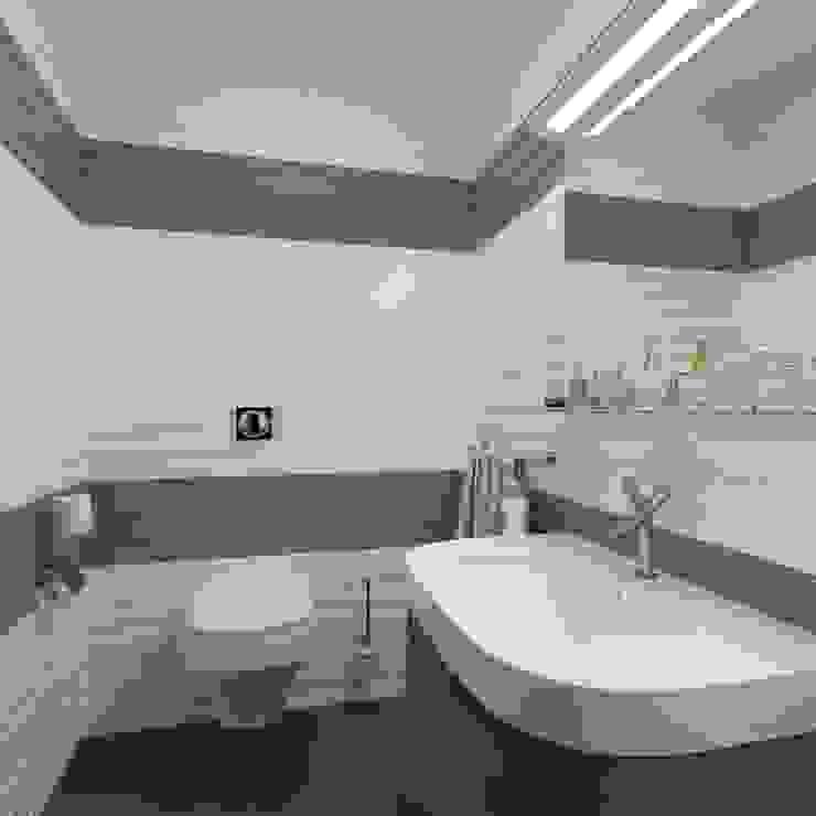 Парк Горького Ванная комната в стиле минимализм от Максим Любецкий Минимализм