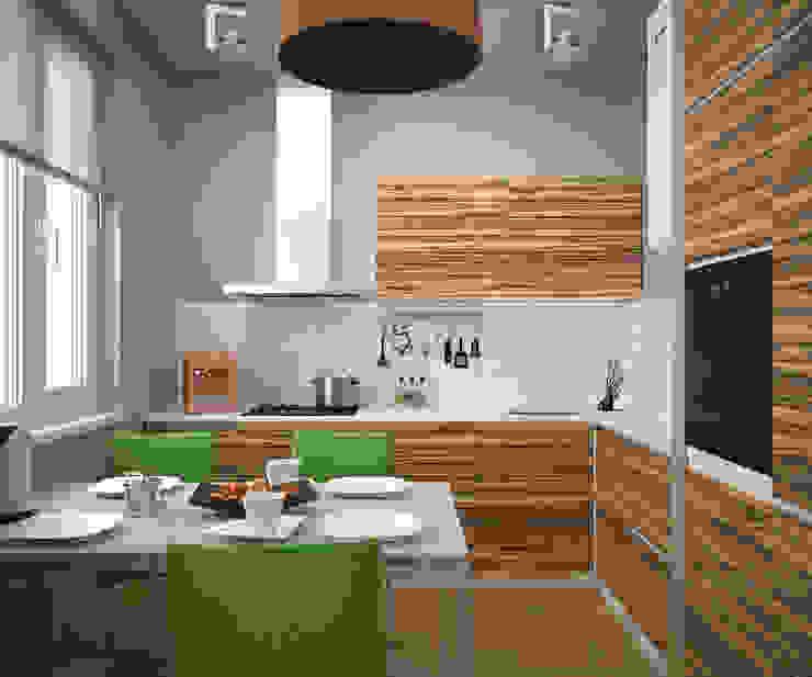 Квартира на Рахманинова Кухня в стиле минимализм от Максим Любецкий Минимализм