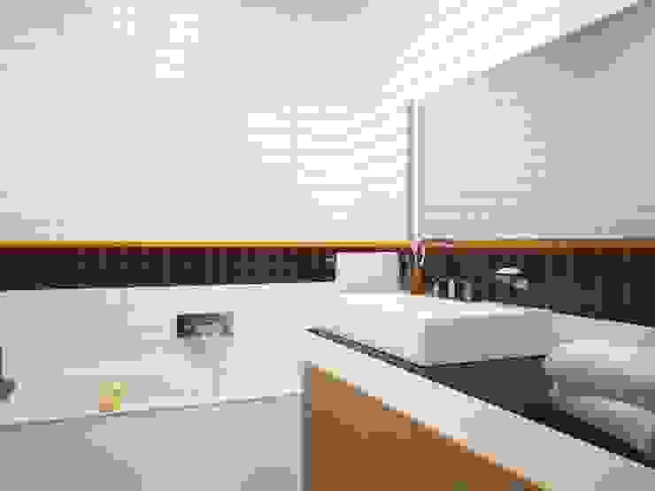 Квартира на Рахманинова Ванная комната в стиле минимализм от Максим Любецкий Минимализм