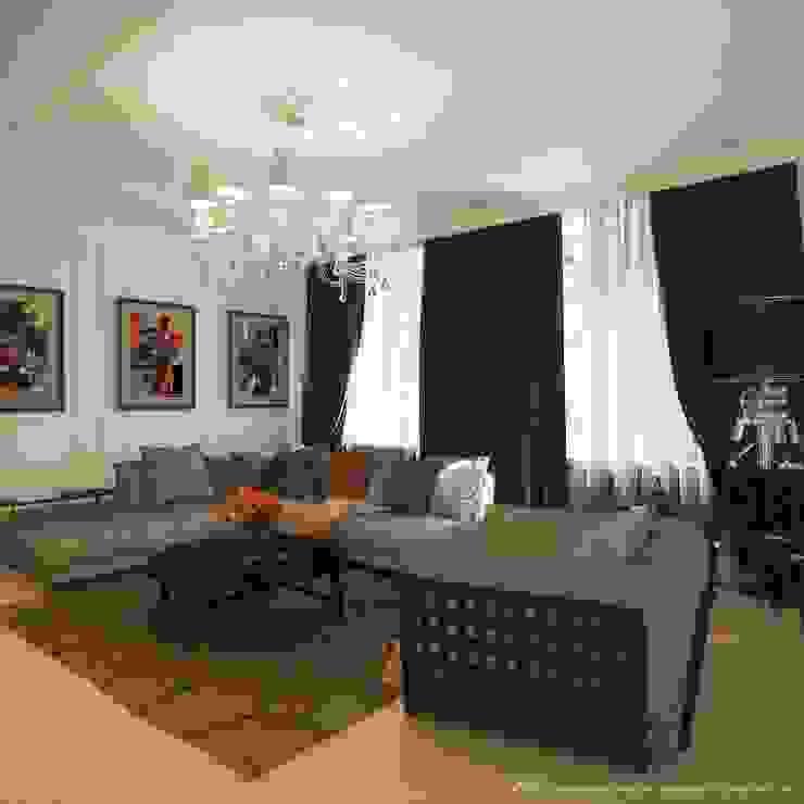 Интерьер дома Гостиная в классическом стиле от Максим Любецкий Классический