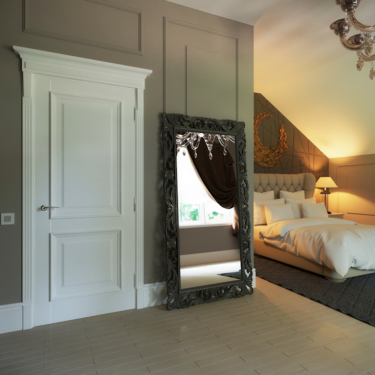 Интерьер дома Спальня в классическом стиле от Максим Любецкий Классический