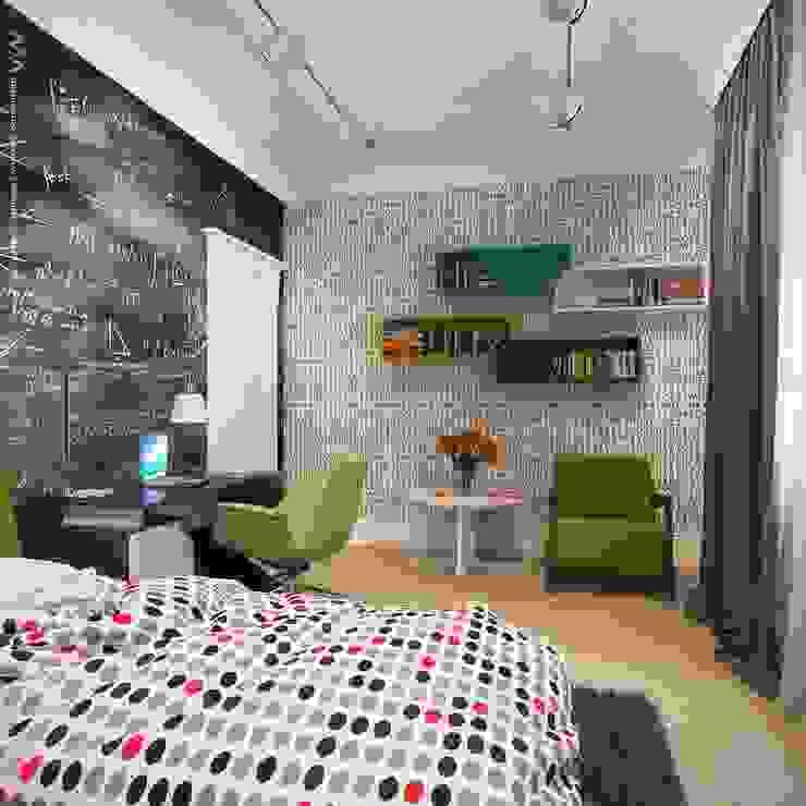 Интерьер дома Детская комнатa в стиле минимализм от Максим Любецкий Минимализм