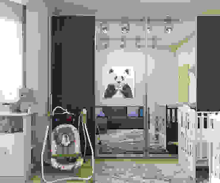 Квартира на Рахманинова Детская комнатa в стиле минимализм от Максим Любецкий Минимализм