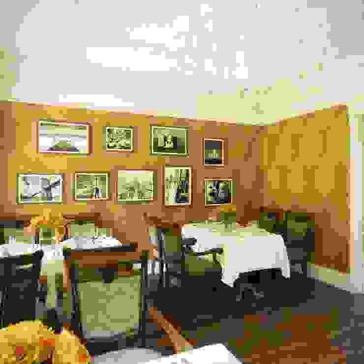 Ла Страда Столовая комната в тропическом стиле от Максим Любецкий Тропический