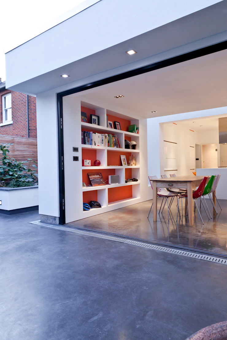 Maldon Road, Exterior Modern houses by David Nossiter Architects Modern
