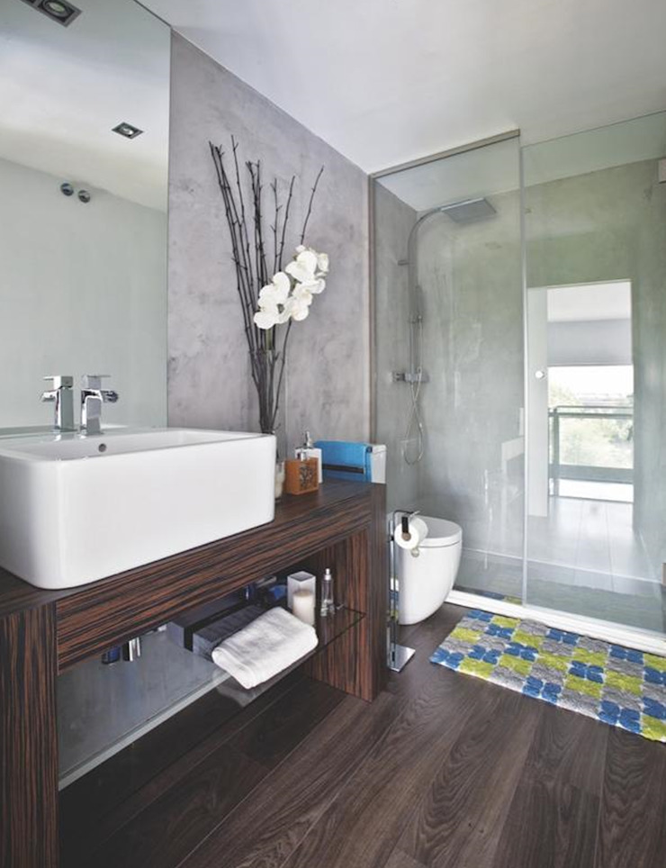 Modern bathroom by Disak Studio Modern