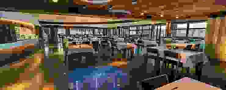 Salle de restaurant Gastronomie originale par JFC Mermillod Éclectique