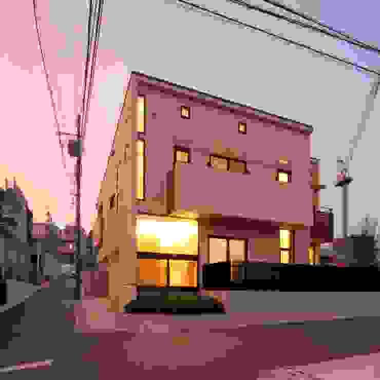 外観 オリジナルな 家 の 中川龍吾建築設計事務所 オリジナル
