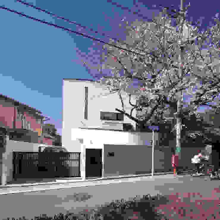 外観 中川龍吾建築設計事務所 オリジナルな 家
