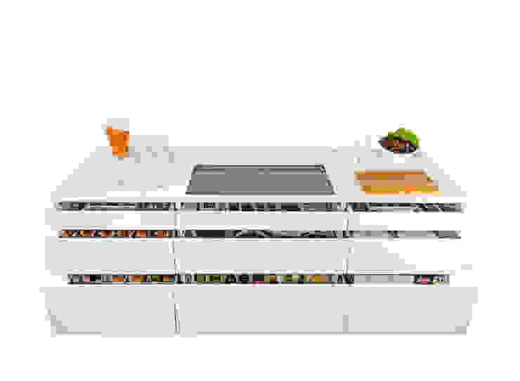 Cocinas de estilo moderno de ERGE GmbH Moderno