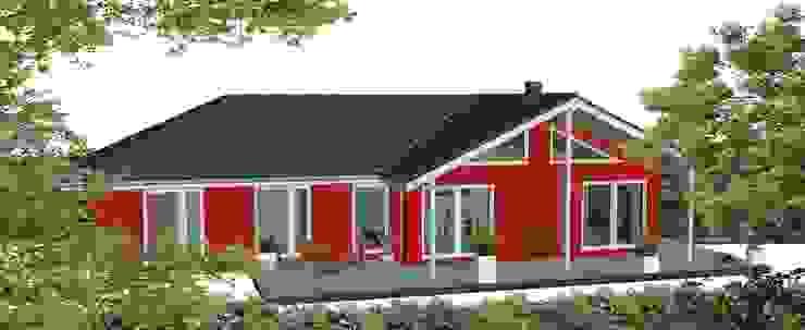 Der moderne Nordfjord Skandinavische Häuser von Akost GmbH 'Ihr Traumhaus aus Norwegen' Skandinavisch