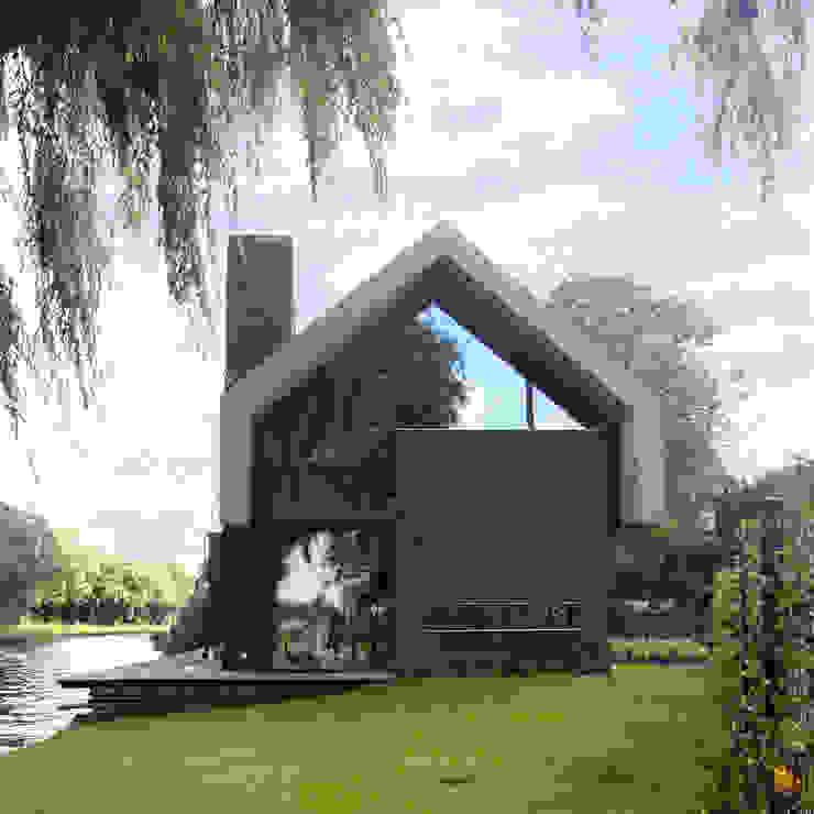 Modern houses by VVKH Architecten Modern