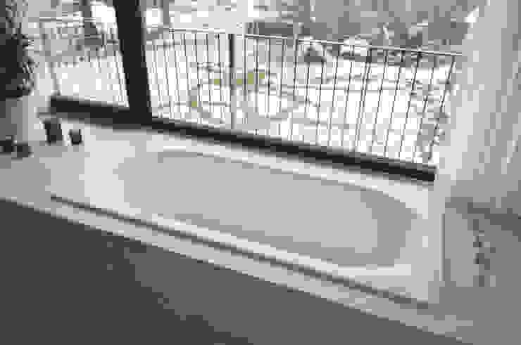 Badewanne mit Ausblick Moderne Badezimmer von Lecke Architekten Modern