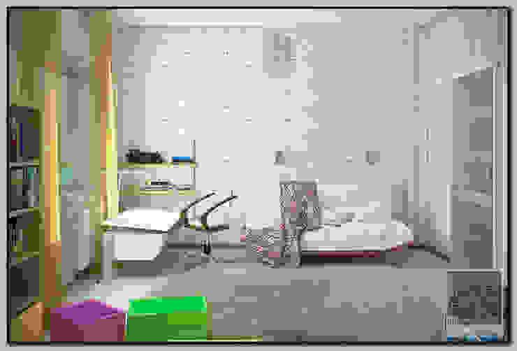 Детская комната для мальчика Детские комната в эклектичном стиле от Мастерская дизайна LOFT Эклектичный
