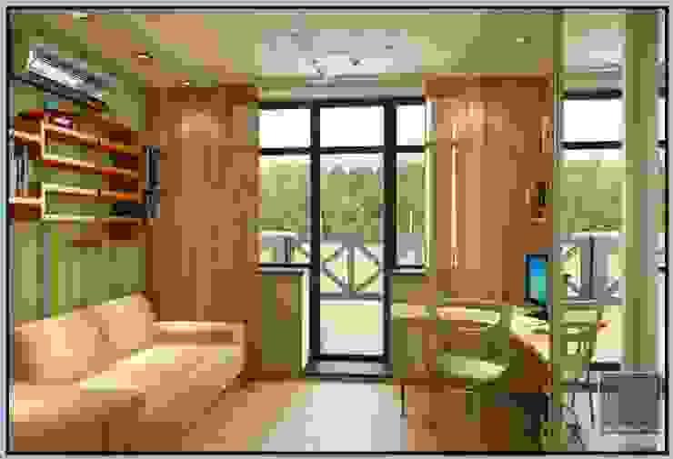 Детская комната в загородном доме Детская комната в стиле модерн от Мастерская дизайна LOFT Модерн
