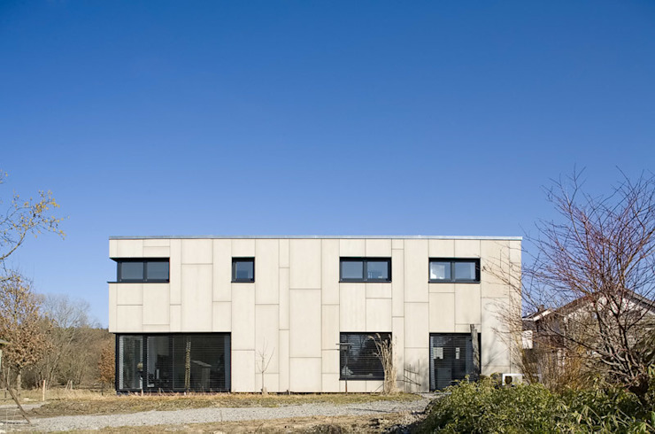 Projekty,  Domy zaprojektowane przez KARL+ZILLER Architektur, Nowoczesny