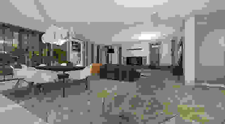 http://ilonasobiech.pl/portfolio/aranzacja-domu-warszawa/ Klasyczny salon od Architekt wnętrz Ilona Sobiech Klasyczny