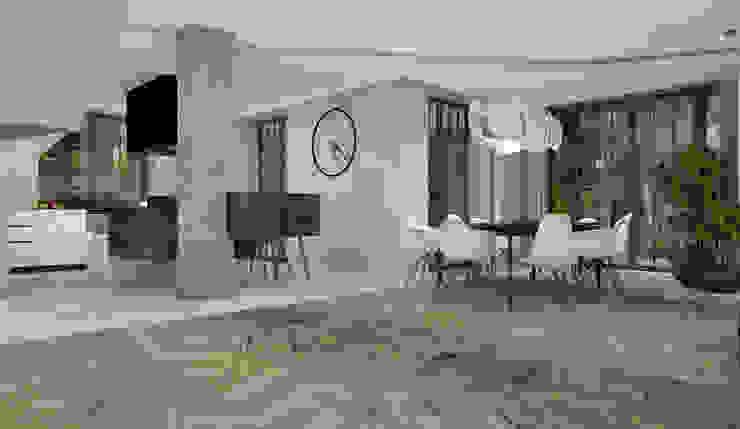 Proejkt wnętrza Klasyczny salon od Architekt wnętrz Ilona Sobiech Klasyczny