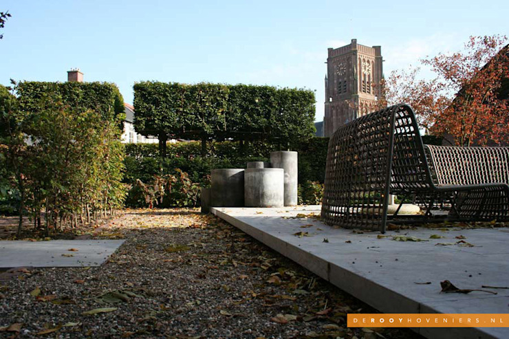 Tuin van het jaar 2014:  Tuin door De Rooy Hoveniers, Modern