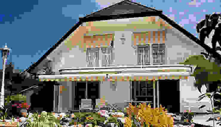 atlas perdecilik – kışbahçesi&çatı:  tarz Evler, Modern