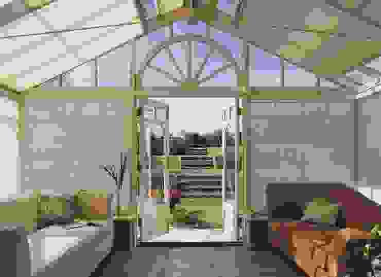 kışbahçesi&çatı Modern Kış Bahçesi atlas perdecilik Modern