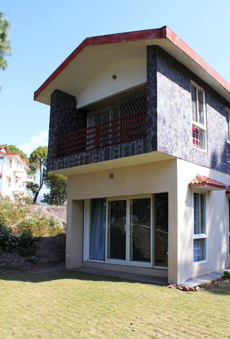 side fasad Modern houses by mold design studio Modern