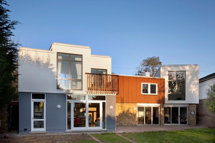 Clover House Maisons modernes par richard pain architect Moderne
