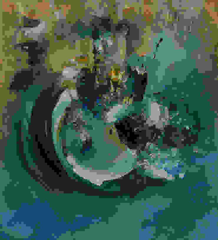 Paysage Marin by Fola Lawson: modern  by Mille Arts, Modern
