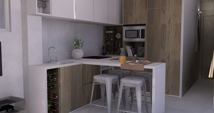 Kitchen by Santiago | Interior Design Studio