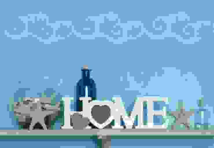 Lettres décoratives - 3D HOME 4 - Cœur par wall-art.fr Moderne