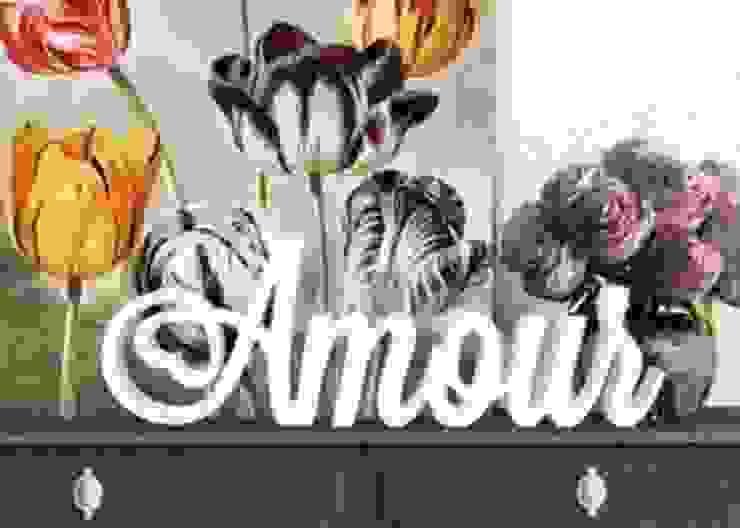 3D Amour par wall-art.fr Éclectique