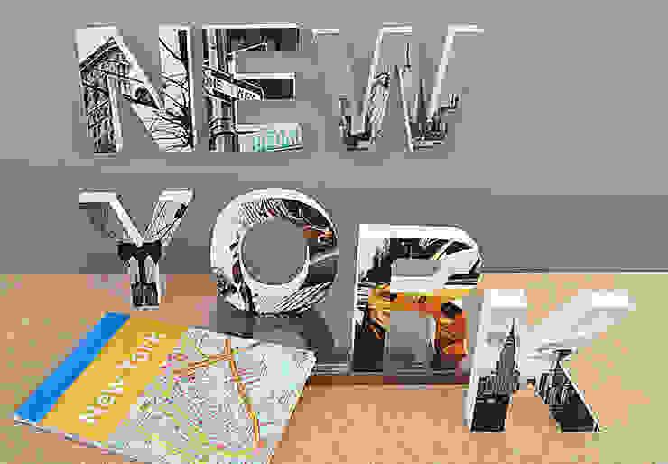 3D NEW YORK imprimé par wall-art.fr Moderne