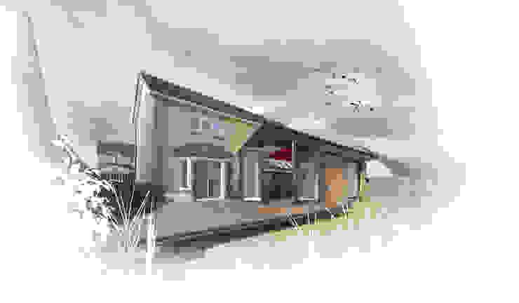 Westerlands Extension 04 Modern kitchen by George Buchanan Architects Modern