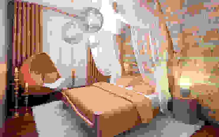 Dormitorios rústicos de HandZart Rústico