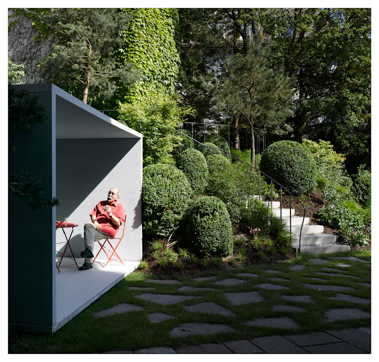 Jardines de estilo  por Gianni Botsford Architects