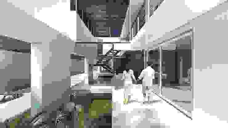 Vila Maresias Casas modernas por Luis Paulo Machado de Almeida Arquitetura e Decoração Moderno