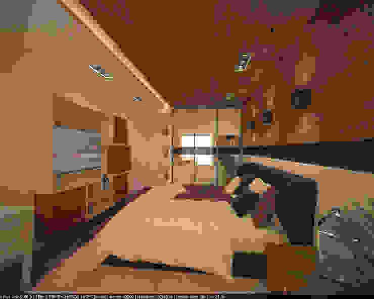 Квартира 160 кв.м. в ЖК<q>Эдем</q> Новосибирск Спальня в стиле лофт от Студия дизайна Виктории Силаевой Лофт