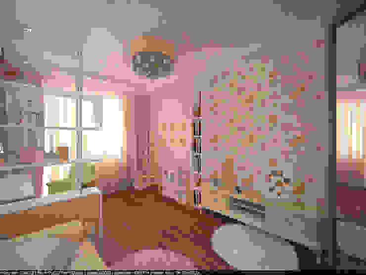 Квартира 160 кв.м. в ЖК<q>Эдем</q> Новосибирск Детская комнатa в классическом стиле от Студия дизайна Виктории Силаевой Классический