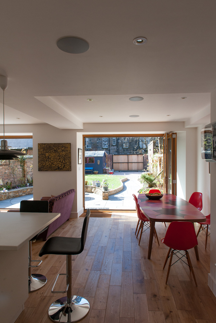 Hillhead Refurbishment 03 Modern dining room by George Buchanan Architects Modern